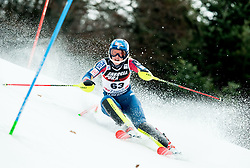 "Nina O Brien (USA) competes during 1st Run of FIS Alpine Ski World Cup 2017/18 Ladies' Slalom race named ""Snow Queen Trophy 2018"", on January 3, 2018 in Course Crveni Spust at Sljeme hill, Zagreb, Croatia. Photo by Vid Ponikvar / Sportida"