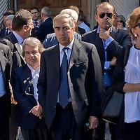 Il funerale del senatore di Forza Italia Donato Bruno