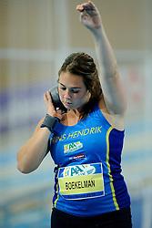 07-02-2010 ATLETIEK: NK INDOOR: APELDOORN<br /> Nederlands kampioen Melissa Boekelman<br /> ©2010-WWW.FOTOHOOGENDOORN.NL