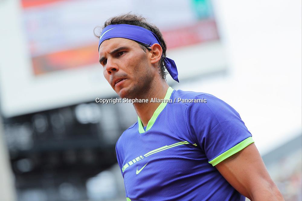 Rafael Nadal (ESP), tension