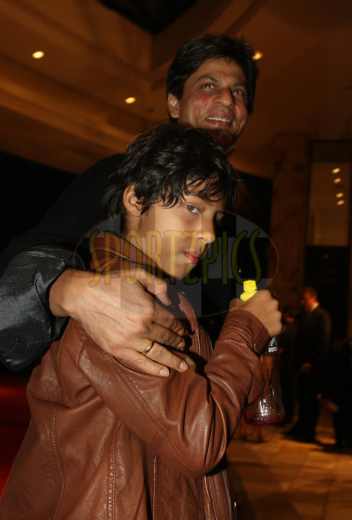 CAPE TOWN, SOUTH AFRICA - 17 April Shah Rukh Khan during the launch party for the IPL Season 2 at the One & Only Hotel in The Waterfront in Cape Town South Africa prior to the launch the IPL Season 2 which is being held in South Africa between the 18 April and 24th May 2009.