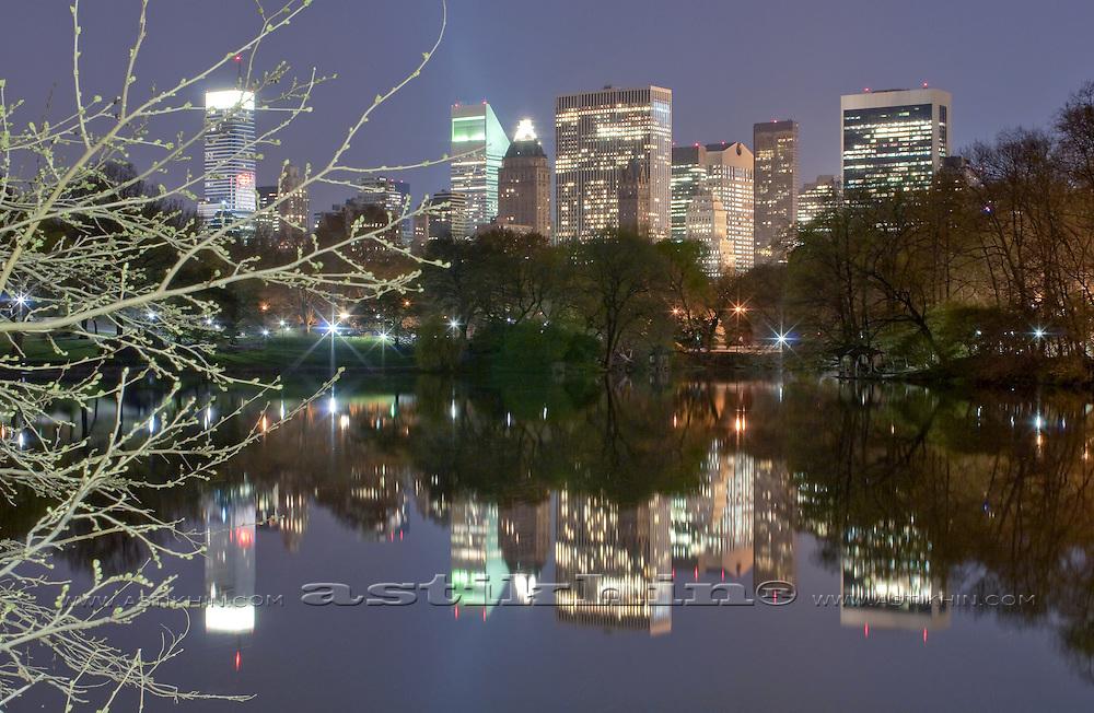 Manhattan in Central Park