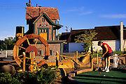 Image of miniature golf near Warrington, Pennsylvania, model released