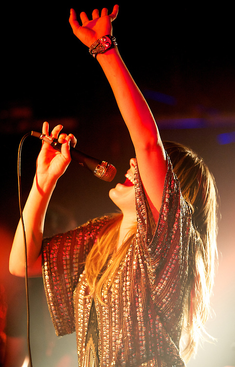 Grace Potter and the Nocturnals play a show at Nectar's on Martha's Vineyard on August 22, 2011 in Massachusetts.
