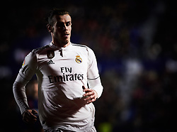 February 24, 2019 - Valencia, Valencia, Spain - Gareth Bale of Real Madrid during the La Liga match between Levante and Real Madrid at Estadio Ciutat de Valencia on February 24, 2019 in Valencia, Spain. (Credit Image: © Maria Jose Segovia/NurPhoto via ZUMA Press)