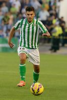 Dani during the match between Real Betis and Recreativo de Huelva day 10 of the spanish Adelante League 2014-2015 014-2015 played at the Benito Villamarin stadium of Seville. (PHOTO: CARLOS BOUZA / BOUZA PRESS / ALTER PHOTOS)