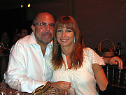 """Bobby Zarin and wife Jill Zarin of TV Show """"The Real Desperate Housewives of New York City""""..Music For Mercy Corps Hamptons Benefit for Darfur Hosted by Cary Elwes and Sarah Silverman.Tuscan Villa.Water Mill, NY, United States .Saturday, August 23, 2008.Photo By Celebrityvibe.com.To license this image call (212) 410 5354 or;.Email: celebrityvibe@gmail.com; .Website: www.celebrityvibe.com."""