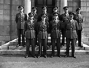 23/08/1958<br /> 08/23/1958<br /> 23 August 1958<br /> Army officers for peacekeeping duty in the Lebanon (3rd Batt) at GHQ, Dublin,Commandant Breen's office.