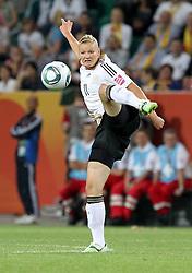 09.07.2011, Arena im Allerpark Wolfsburg , Wolfsburg ,  GER, FIFA Women Worldcup 2011, Viertelfinale ,   Germany (GER) vs Japan (JPN)  im Bild   .Alexandra Popp (GER)  .//  during the FIFA Women Worldcup 2011, Quarterfinal, Germany vs Japan  on 2011/07/09, Arena im Allerpark , Wolfsburg, Germany.  .EXPA Pictures © 2011, PhotoCredit: EXPA/ nph/  Hessland       ****** out of GER / CRO  / BEL ******