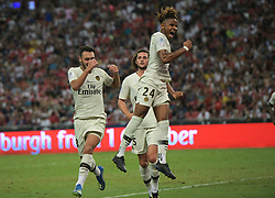 2018?7?28?.??????——?????????????????????????..7?28???????????Christopher Nkunku?24????????????????????????????.???? ??????..Paris Saint-Germain player Christopher Nkunku (No 24, R) celebrates scoring from the penalty spot in the International Champions Cup match between Arsenal and Paris Saint-Germain held in Singapore's National Stadium on Jul 28, 2018..By Xinhua, Then Chih Wey..??????????2018?7?28? (Credit Image: © Then Chih Wey/Xinhua via ZUMA Wire)