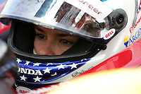 Danica Patrick at the Kentucky Speedway, Kentucky Indy 300, August 14, 2005