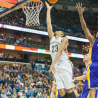 Lakers VS Pelicans 11082013