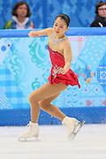 "Akiko Suzuki (JPN), <br /> FEBRUARY 19, 2014 - Figure Skating : <br /> Women's Short Program <br /> at ""ICEBERG"" Skating Palace <br /> during the Sochi 2014 Olympic Winter Games in Sochi, Russia. <br /> (Photo by Yohei Osada/AFLO SPORT)"