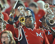 An Ole Miss band member vs. Vanderbilt in Nashville, Tenn. on Thursday, August 29, 2013.