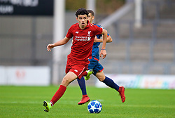ST HELENS, ENGLAND - Wednesday, October 24, 2018: Liverpool's Curtis Jones during the UEFA Youth League Group C match between Liverpool FC and FK Crvena zvezda at Langtree Park. (Pic by David Rawcliffe/Propaganda)