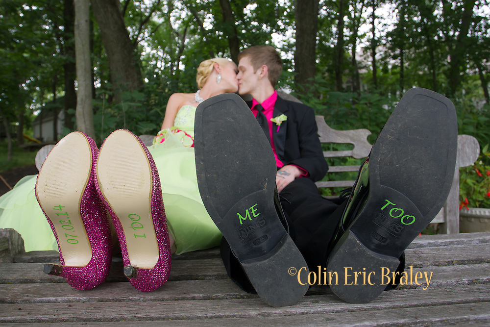 Zach and Chelsea Wedding. July 2, 2014