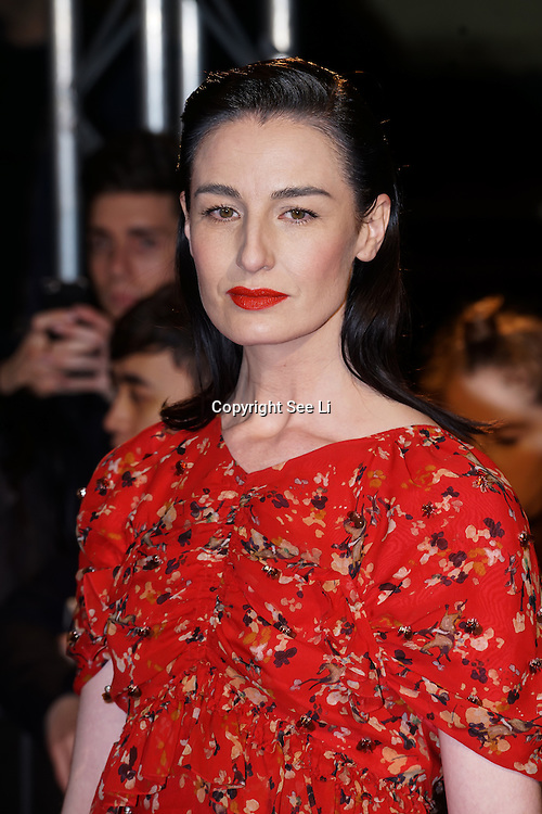 London,England,UK. 21th Fen 2017.  Erin O'Connor attends London Fabulous Fund Fair hosted by Natalia Vodianova and Karlie Kloss in support of The Naked Heart Foundation on February 21, 2017 at The Roundhouse in London, England.,UK. by See Li