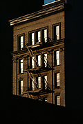 Reflected Windows, New York City, New York, USA, May 1982