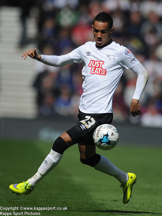 Tom Ince Derby County,  Derby County, Derby County v Brentford, Sy Bet Championship, IPro Stadium, Saturday 11th April 2015. Score 1-1,  (Bent 92) (Pritchard 28)<br /> Att 30,050