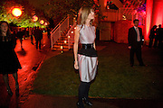 TRINNY WOODALL, The Summer Party. Hosted by the Serpentine Gallery and CCC Moscow. Serpentine Gallery Pavilion designed by Frank Gehry. Kensington Gdns. London. 9 September 2008.  *** Local Caption *** -DO NOT ARCHIVE-© Copyright Photograph by Dafydd Jones. 248 Clapham Rd. London SW9 0PZ. Tel 0207 820 0771. www.dafjones.com.