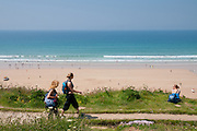 Walking the Watergate Bay Coastal Path