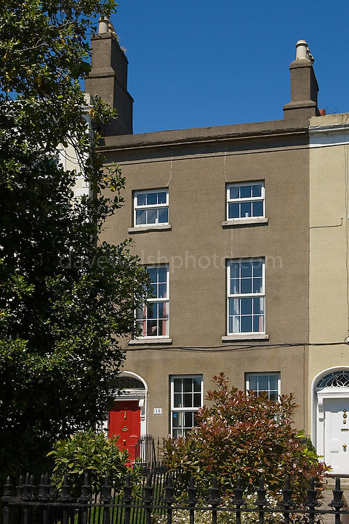 The Birthplace of Bram Stoker, author of Dracula, 15 Marino Crescent, Clontarf, Dublin, Ireland