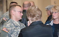 NH National  Guard departure ceremony October 9, 2010.