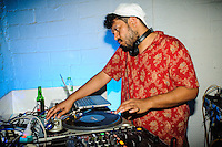 DJ Nobody Warehouse 82, Seminyak, Bali, Indonesia, 03/05/2014.