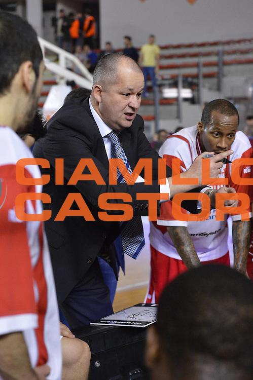 DESCRIZIONE : Roma Lega A 2012-13 Acea Roma Scavolini Banca Marche Pesaro<br /> GIOCATORE : Zare Markovski<br /> CATEGORIA : time out<br /> SQUADRA : Scavolini Banca Marche Pesaro<br /> EVENTO : Campionato Lega A 2012-2013 <br /> GARA : Acea Roma Scavolini Banca Marche Pesaro<br /> DATA : 20/01/2013<br /> SPORT : Pallacanestro <br /> AUTORE : Agenzia Ciamillo-Castoria/GiulioCiamillo<br /> Galleria : Lega Basket A 2012-2013  <br /> Fotonotizia :  Roma Lega A 2012-13 Acea Roma Scavolini Banca Marche Pesaro<br /> Predefinita :