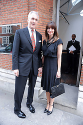 JEREMY KING and LAUREN GURVICH at a private view of photographs by David Bailey entitled 'Then' held at Hamiltons, 13 Carlos Place, London W1 on 6th July 2010.