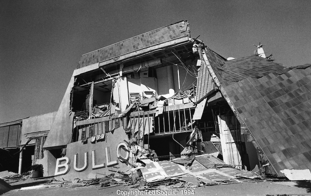 Bullocks in Northridge.<br /> Northridge earthquake.