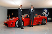 &copy; Filippo Alfero<br /> Francoforte, 11-09-2007<br /> Motori<br /> Salone dell' Auto di Francoforte 2007<br /> Nella foto: Michael Schumacher e Luca Cordero di Montezemolo presentano la Ferrari 430 Scuderia<br /> &copy; Filippo Alfero<br /> Frankfurt, Germany,  11-09-2007<br /> Motors<br /> IAA - International Motor Show Cars<br /> In the photo: Michael Schumacher and Luca Cordero di Montezemolo present the Ferrari 430 Scuderia