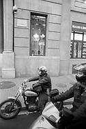 Barcelona, 2001: motociclisti, Rambla<br /> &copy; Andrea Sabbadini