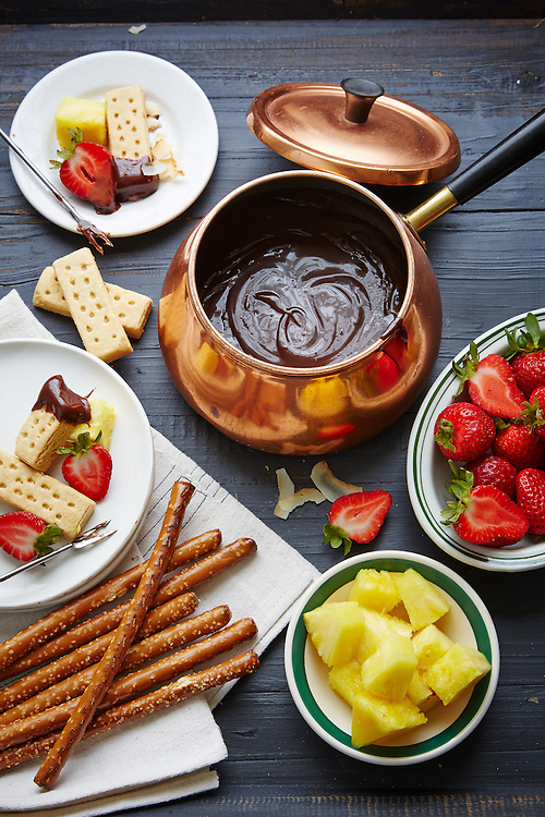 Chocolate Fondue From Slow-Cooker
