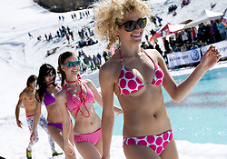 Fashion show during Luza Petrol 007 on ski resort RTC Krvavec, 31.3.2012, Cerklje na Gorenjskem, ski resort RTC Krvavec, Slovenia