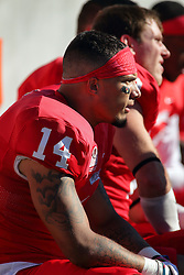 08 October 2016:  DraShane Glass. NCAA FCS Missouri Valley Football Conference Football game between Youngstown State Penguins and Illinois State Redbirds at Hancock Stadium in Normal IL (Photo by Alan Look)