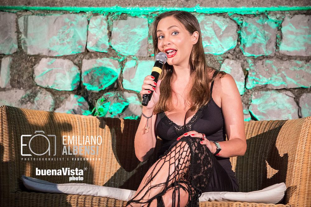 Maratea, Basilicata, Italia, 21/08/2014<br /> L'attrice Isabella Orsini alla Settimana del Cinema di Maratea<br /> <br /> Maratea, Basilicata, Italy, 21/08/2014<br /> <br /> The actress Isabella Orsini in Maratea for the Week of Cinema 2014