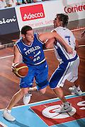 DESCRIZIONE : Cagliari Torneo Internazionale Sardegna a canestro Italia Estonia <br /> GIOCATORE : Valerio Amoroso <br /> SQUADRA : Nazionale Italia Uomini Italy <br /> EVENTO : Raduno Collegiale Nazionale Maschile <br /> GARA : Italia Estonia Italy Estonia <br /> DATA : 13/08/2008 <br /> CATEGORIA : Penetrazione <br /> SPORT : Pallacanestro <br /> AUTORE : Agenzia Ciamillo-Castoria/S.Silvestri <br /> Galleria : Fip Nazionali 2008 <br /> Fotonotizia : Cagliari Torneo Internazionale Sardegna a canestro Italia Estonia <br /> Predefinita :