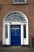 St. Therese's Girls Club: Georgian House in Mountjoy Square, Dublin 1, Ireland, named after Viscount Mountjoy, laid out in  1791 and completed between 1793 and 1818.