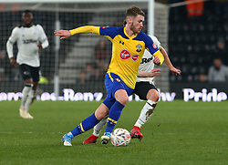 January 5, 2019 - Derby, England, United Kingdom - Derby, England - 05 January, 2019.Southampton's Callum Slattery.during FA Cup 3rd Round between Derby County  and Southampton at Pride Park stadium , Derby, England on 05 Jan 2019. (Credit Image: © Action Foto Sport/NurPhoto via ZUMA Press)