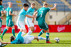 Lea Schuller of Germany during football match between Slovenia and Germany in Womans Qualifications for World Championship 2019, on April 10, 2018 in Sports park Domzale, Domzale, Slovenia. Photo by Ziga Zupan / Sportida