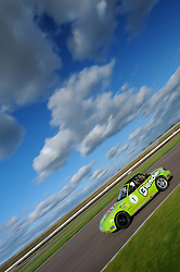 Tom Roche in qualifying for the Ma5da Racing MX5 Championship round at Rockingham