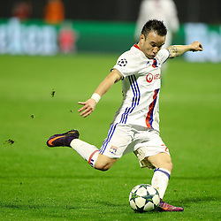 Mathieu Valbuena of Lyon during football match between GNK Dinamo Zagreb and Olympique Lyonnais in Group H of Group Stage of UEFA Champions League 2016/17, on November 22, 2016 in Stadium Maksimir, Zagreb, Croatia. Photo by Morgan Kristan / Sportida