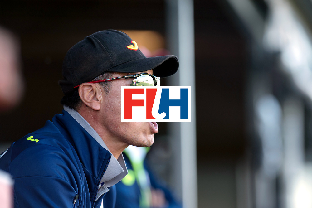 AUCKLAND - Sentinel Hockey World League final women<br /> Match id: 10303<br /> 13 GER v KOR (QF) 3-3<br /> Korea in to semi after shoot out.<br /> Foto: Sang YoungHUH Head Coach <br /> WORLDSPORTPICS COPYRIGHT FRANK UIJLENBROEK