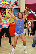 Photo of Richard Simmons working out on on August 2, 2005. ©Paul Anthony Spinelli