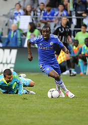 July 18, 2012: CenturyLink Field, Seattle, WA: Chelsea FC midfielder Ramires at the World Football Challenge. Chelsea FC defeated the Seattle Sounders 4-2.