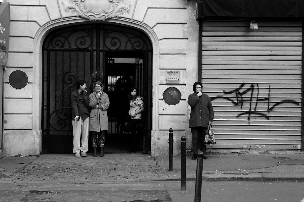 Ménilmontant four, Paris