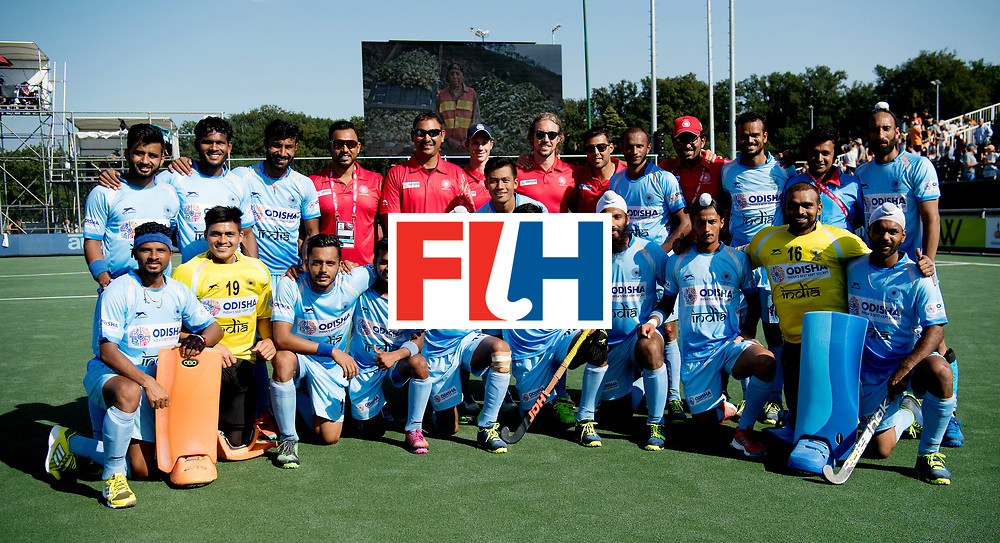 BREDA - Rabobank Hockey Champions Trophy<br /> The Netherlands - India<br /> Photo: Indian team.<br /> COPYRIGHT WORLDSPORTPICS FRANK UIJLENBROEK