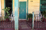 Porches in Quivican, Mayabeque, Cuba.