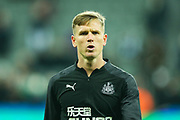 Matt Ritchie (#11) of Newcastle United warms up ahead of the Premier League match between Newcastle United and Chelsea at St. James's Park, Newcastle, England on 18 January 2020.